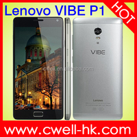 Original Lenovo Vibe P1 Dual SIM NFC Fingerprint Touch ID 3GB RAM 16GB ROM Full Metal Body 5000mah battery mobile phone