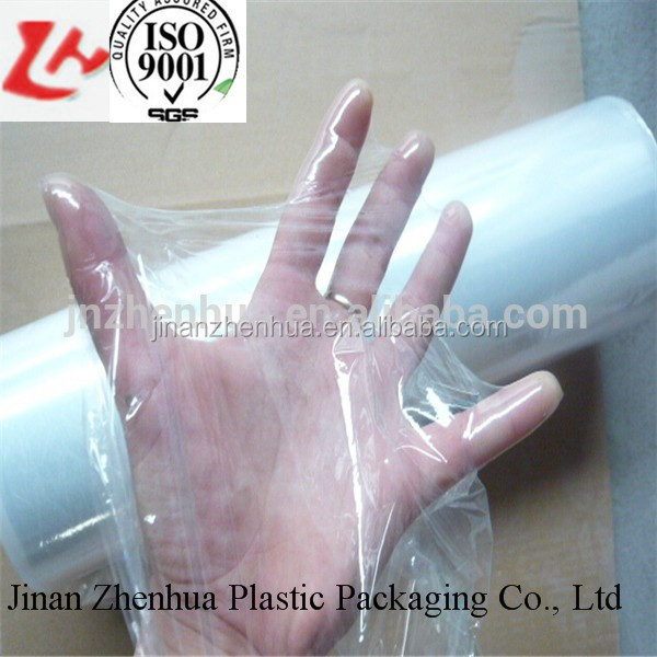 clear LLDPE cling film/food wrap / plastic stretch film for food grade