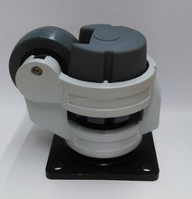 adjustable leveling casters wheel/casters with leveling