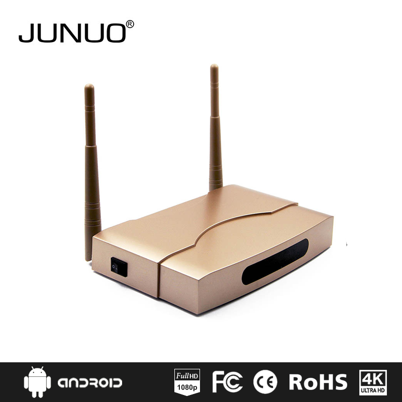 JUNUO wholesale newest fast version s905x 2GB ram android ip box internet tv set top box