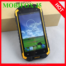 Wholesale MFOX J5 4.5 Inch 1GB RAM 16GB ROM MTK6589T Quad Core Waterproof Rugged Phone