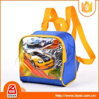 Popular dual compartment anime child picnic backpack kids lunch cooler bags