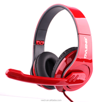 2016 Factory Sale Gaming Stereo Headphones Headset Earphone with Mic for PC Laptop Gaming Stereo Headphones