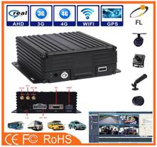 AHD 720P 960P 4 Channel HDD and SD card mobile DVR/MDVR dahua poe nvr nvr3104p integrate with fuel sensor