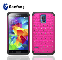 2014 hotting shockproof waterproof mobile phone case for samsung s5 wholesale price