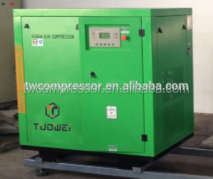 13bar stationary configuration and screw type oil free air compressor