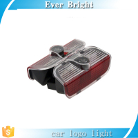 Gold supplier ! laser door light VW ,Skoda,PORSCH-E, led ghost shadow car logo light