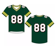 Wholesale blank sublimation manufacturer bulk custom football uniforms american football jersey