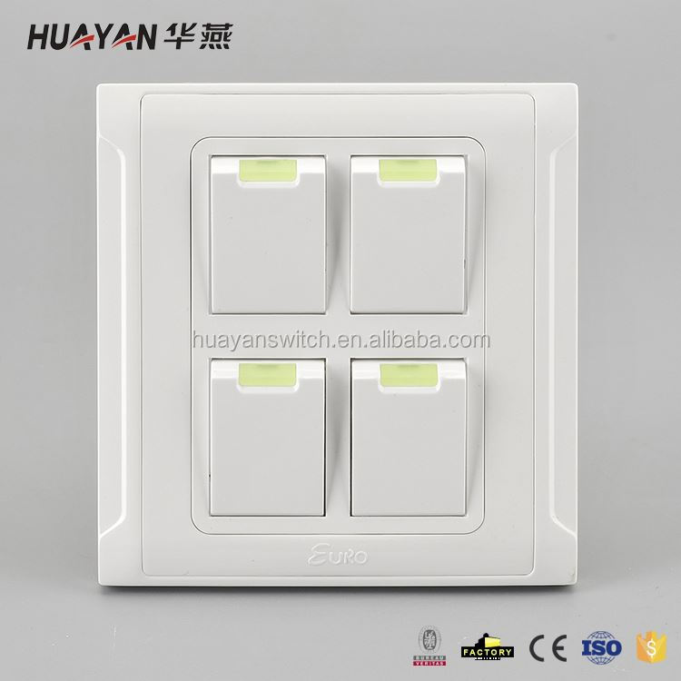 Factory Supply superior quality household wireless wall switch from manufacturer