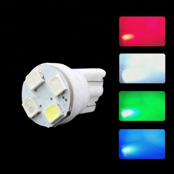 T10 RGB 5050 4SMD DC 12V LED bulb for car