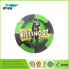 Wholesales Official Basketball Promotional Rubber Basketball 2015