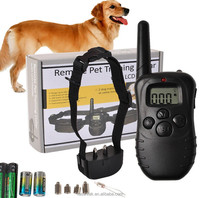 998D LCD Remote Control Electric Shock Dog Training Collar Dog Bark Stop Collar 300M Range