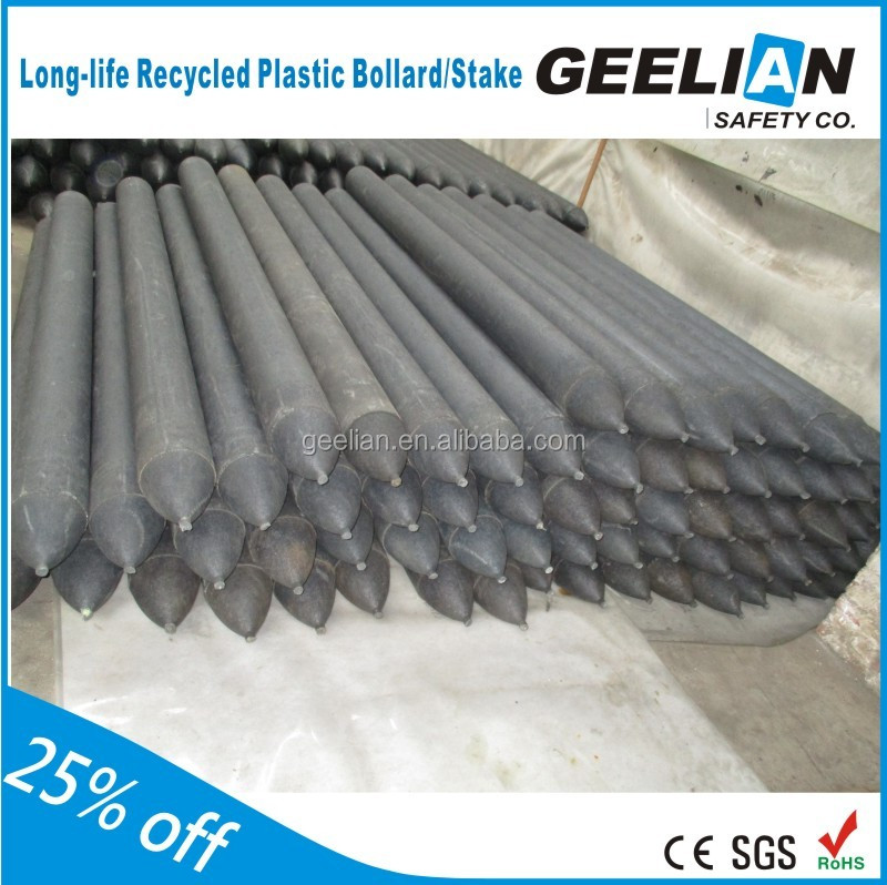 Cheap price china manufacturer Solid recycled plastic fence posts