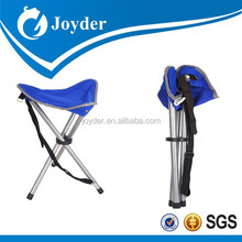 Portable folding foldable camping hiking hunting three leg Triangle fishing tool chair with free carrying case