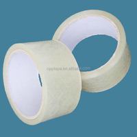customized factory wholesale 38mic 40mic 48mic strong adhesion transparent packing tape CIF price