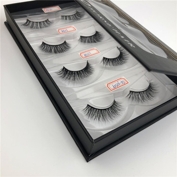 hot sale 3d mink lashes heat bond lash extensions packaging by AQR Lashes