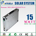 effectively resist corrosion of moisture and salt fog 15W Solar Panel System 1500W