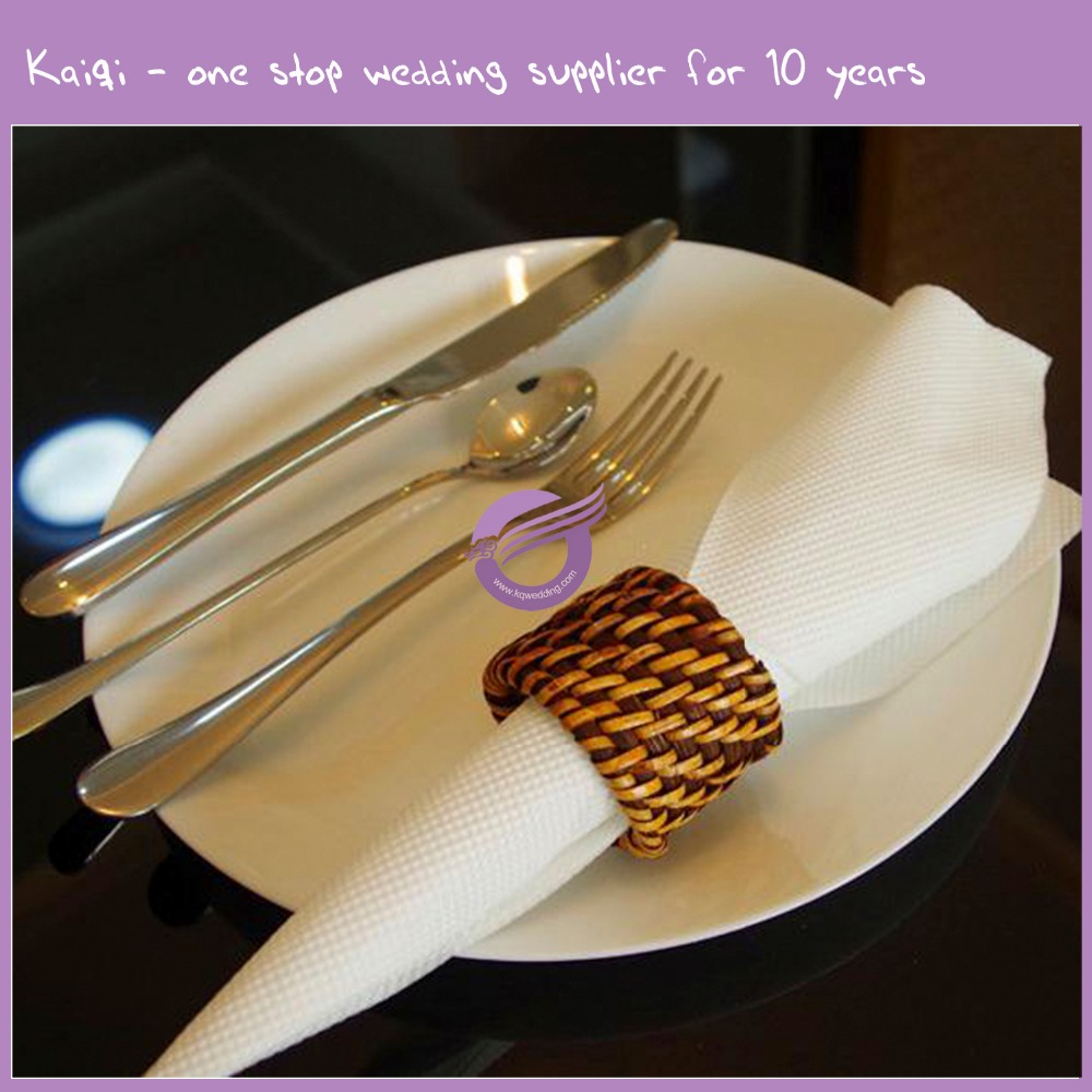 k5951 new design rattan plaited articles napkin ring