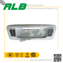 High quality white toyota hiace car custom license plate frames with LED
