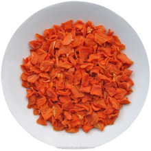 100% Natural Dehydrated/Dried Carrot Granules from China
