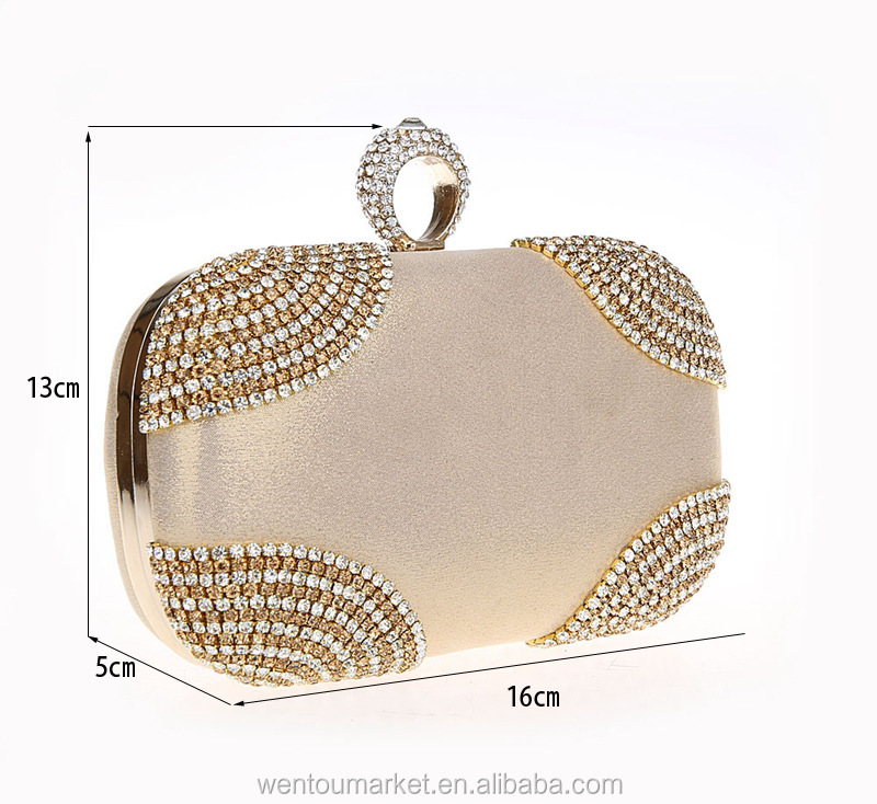 Crystal evening bag Clutch Bag for party Multicolor crystal clutch