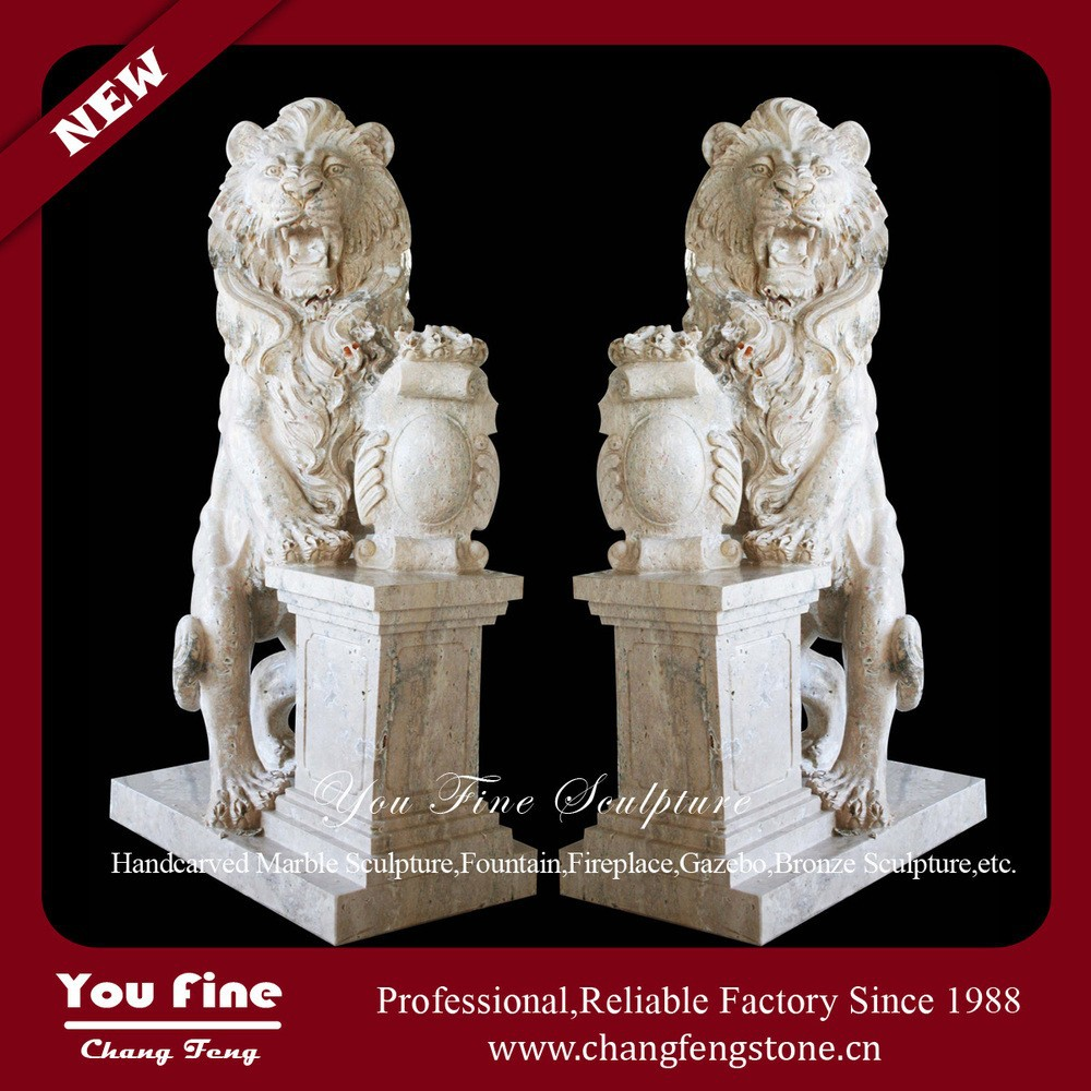 Stone carving antique marble lion statue buy