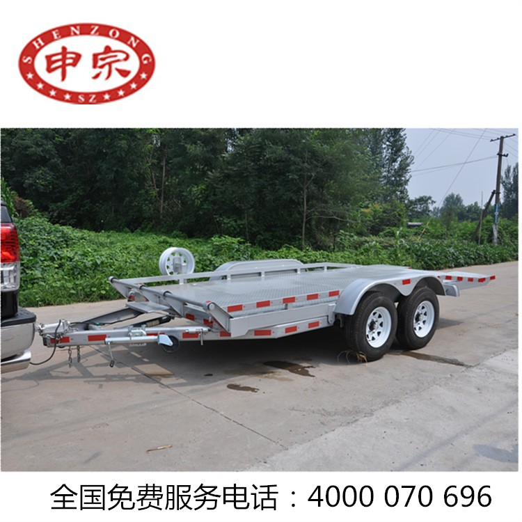Galvanized box trailer with mesh cage for sale / Trailer Cage