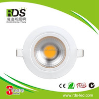 New product 3 years warranty ce rohs AC85-265v 12w led downlight with 90mm cut out