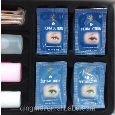 2016 Hot sale disposable eyelash perm