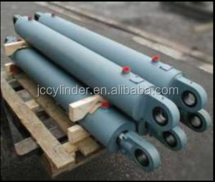 double acting welded ram hydraulic cylinder for dump truck