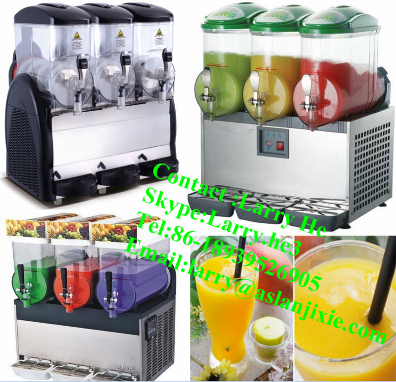 frozen slush machine/3 bowl slush machine/ice slush machine