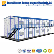 Fast build prefab house solar panel system modern prefabricated house