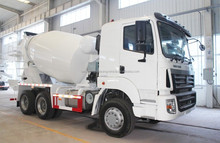 China factory HOWO 6*4 12m3 prices concrete mixer truck discount for sale
