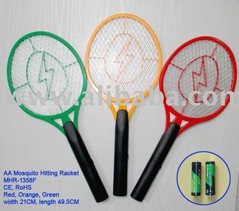 Electric Mosquito Zapping Racket