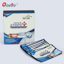 Professional Strength Double Elastic Gel Teeth Whitening Strips 28 Count,with Bonus Shade Guide Advanced New Formula