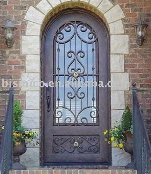 Classic style metal door,iron door,artistic metal door,villa door,interior and exterior door