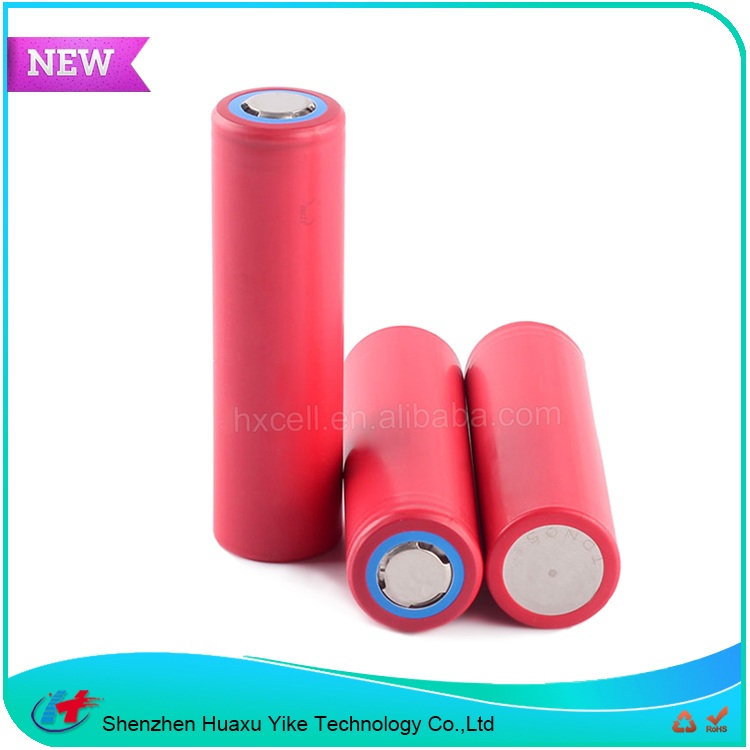 Cylindrical 18650 battery 3.6v 3500mah motorcycle battery ncr18650ga 3.6v lithium ion battery