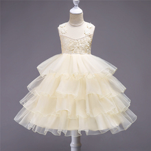 Princess style girl child dress kid party wedding frock design pictures for children gown