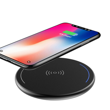 Wholesale 5V 1A fast charging Micro Ultra-thin Aluminum mobile cell phone wireless charger
