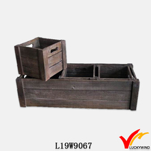 shabby slat solid certified rectangular planter box
