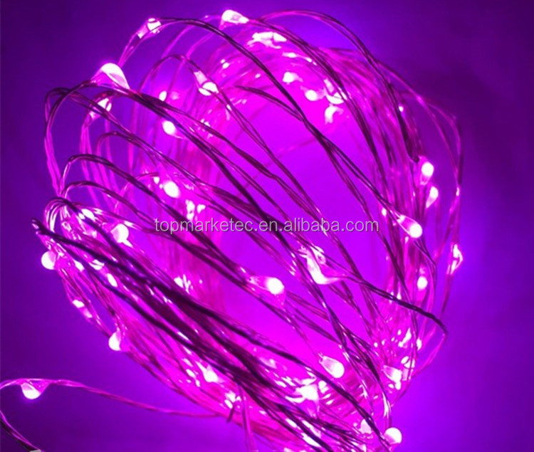 USB led copper wire string lights thin wire string light 10/20/30/40/50/60/70/80/100M