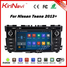 Kirinavi WC-NT8061 android 5.1 car navigation dvd for nissan teana 2013 2014 2015 2016+ double din car stereo wifi 3g