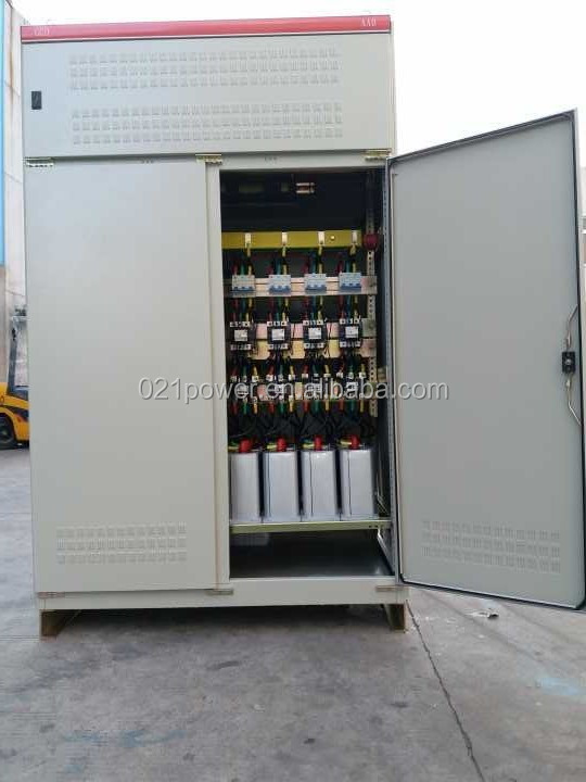 Power Factor Correction Unit 400 kvar 6 step controller