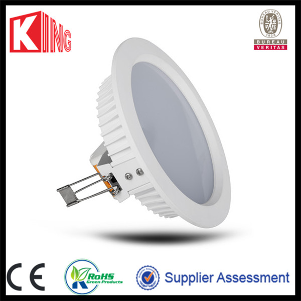 140mm cut out size dimmable led downlight with 3years warranty