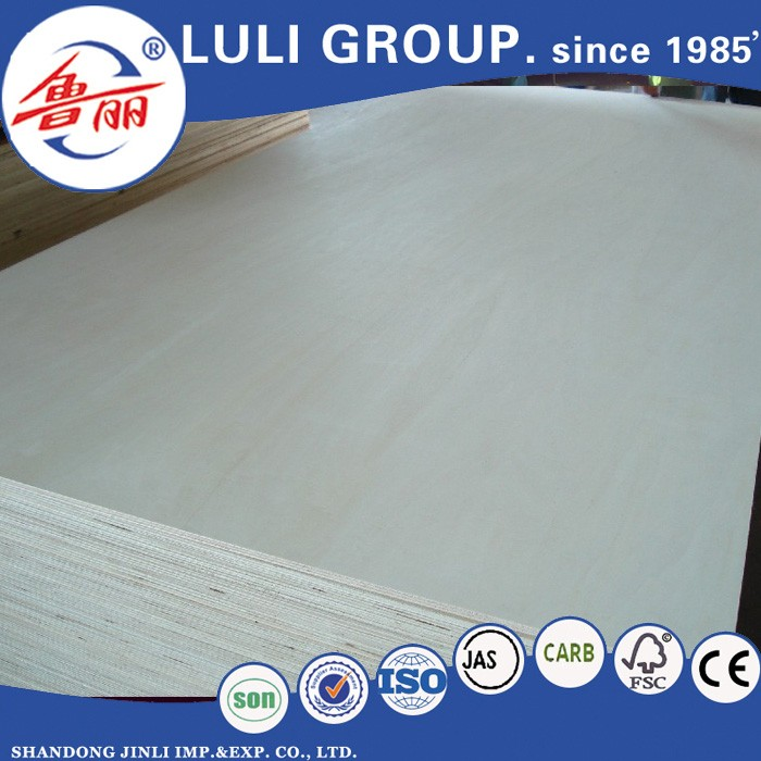 China factory melamine faced commercial plywood