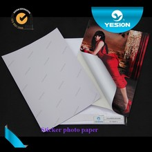 Yesion High Quality Wholesale A3 Self Adhesive Inkjet Glossy Photo Paper/ Manufacturer Supply