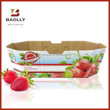 Hot Sale fruits and vegetables box for packing strawberry
