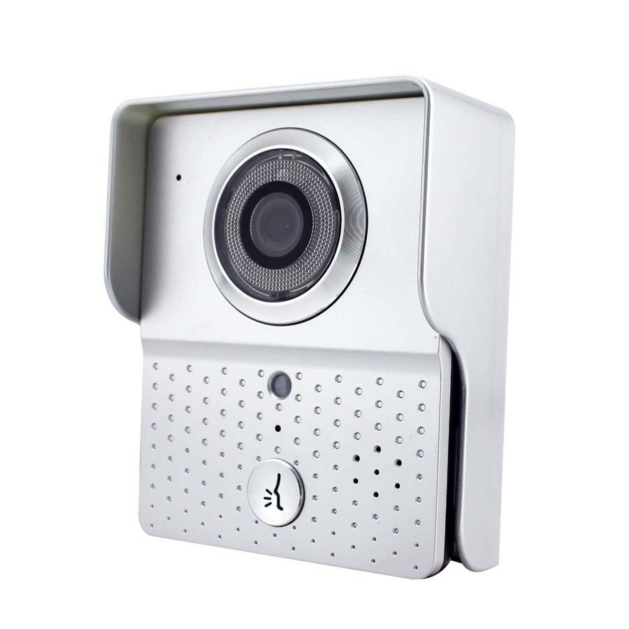 China ACTOP 4 wire video door phone for apartment intercom system