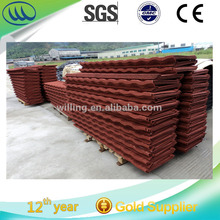 Hot Sales Classic Stone Coated Sheet Metal Steel Roofing Tile