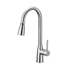 UPC Single Handle Chrome High Arc Pull Down Sprayer Kitchen Sink Faucet